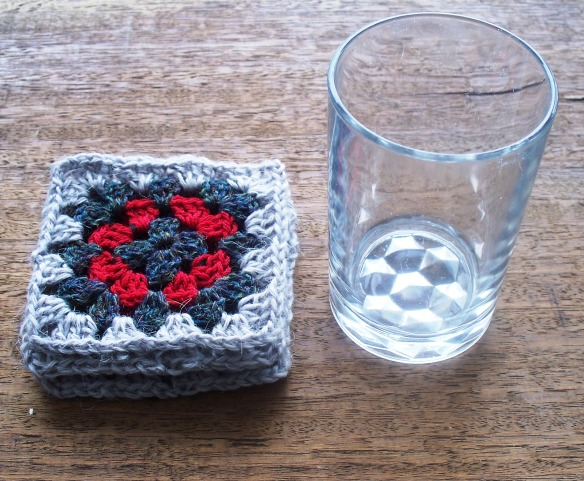 coasters 2d - silver,grey,red - rita summers 2013