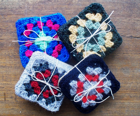 crochet coasters - group 1 - rita summers 2013