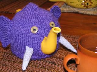 elephant tea cosy
