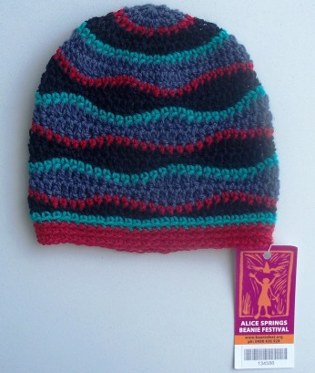 stitchedupmama - brainwave beanie 5