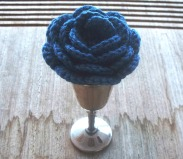 stitchedupmama - rose - blue