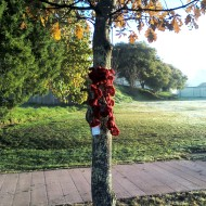 tree scarf by stitchedupmama