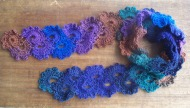 queen anne's lace scarf 1a - rita summers - 2013