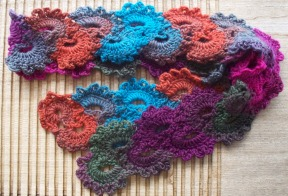 queen anne's lace scarf 2a - rita summers - 2013