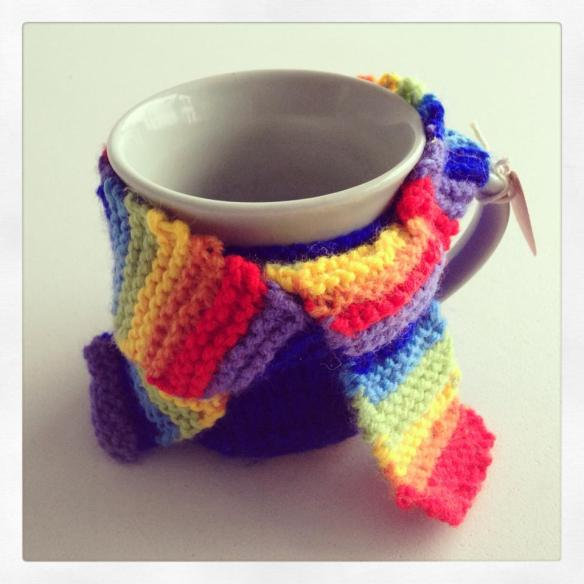 mug cosy by kate larby