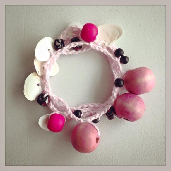 wrist wrap - pink